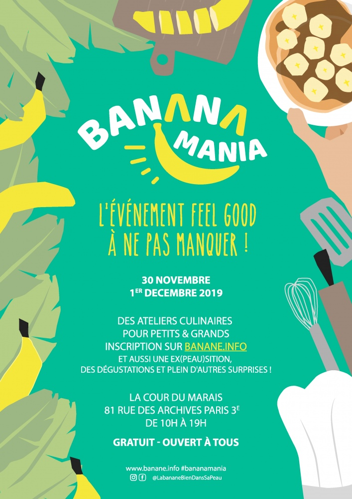 Bananamania à Paris